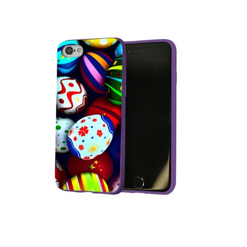 Чехол для Apple iPhone 8 силиконовый глянцевый Пасха Фото 01