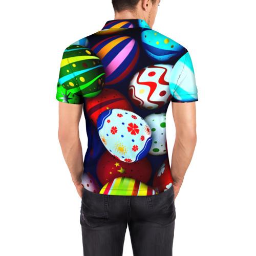 Мужская рубашка поло 3D Пасха Фото 01