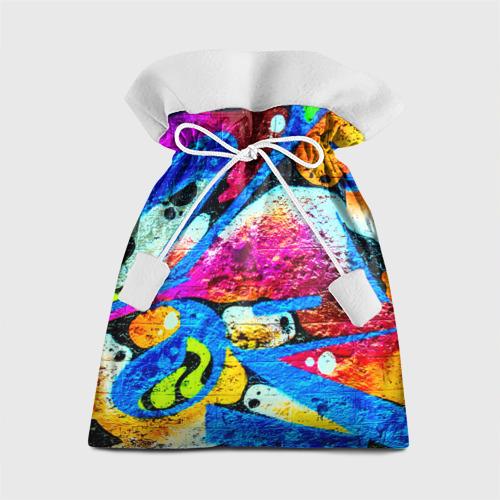 Подарочный 3D мешок Граффити Фото 01