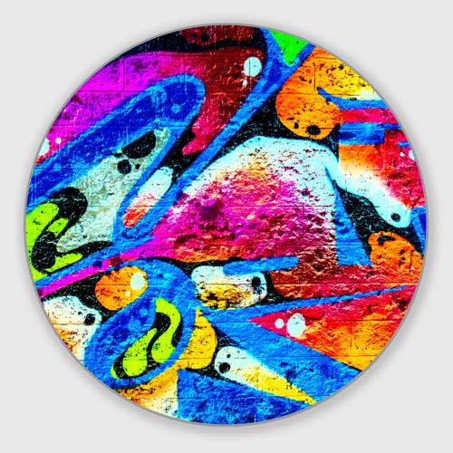 Коврик для мышки круглый Граффити Фото 01