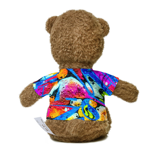 Миша в футболке 3D Граффити Фото 01