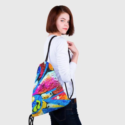 Рюкзак-мешок 3D Граффити Фото 01