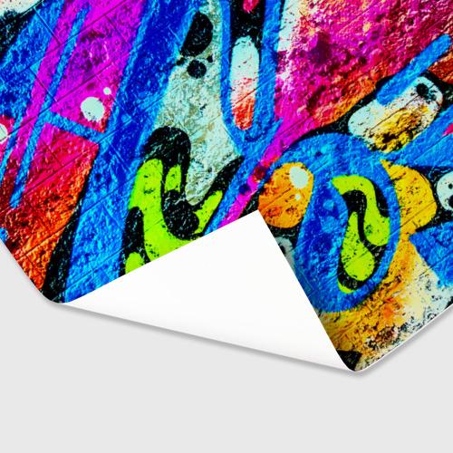Бумага для упаковки 3D Граффити Фото 01