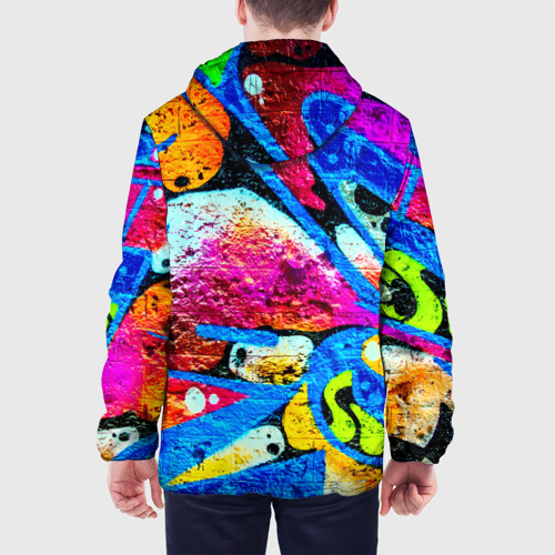 Мужская куртка 3D  Фото 05, Граффити
