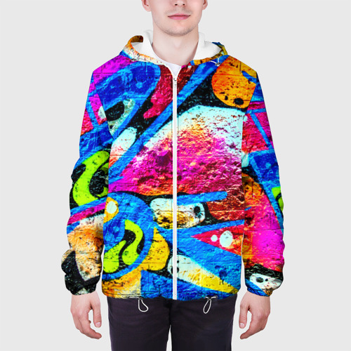 Мужская куртка 3D  Фото 04, Граффити