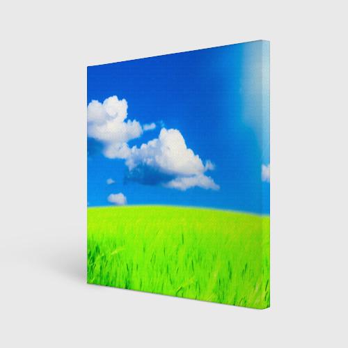 Холст квадратный  Фото 01, Природа