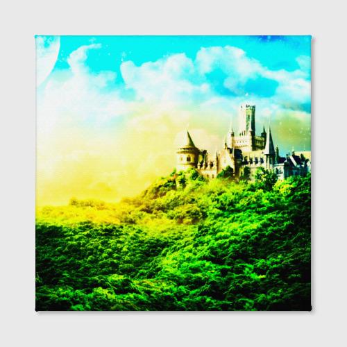 Холст квадратный  Фото 02, Замок