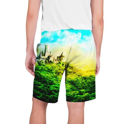 Мужские шорты 3D  Фото 02, Замок