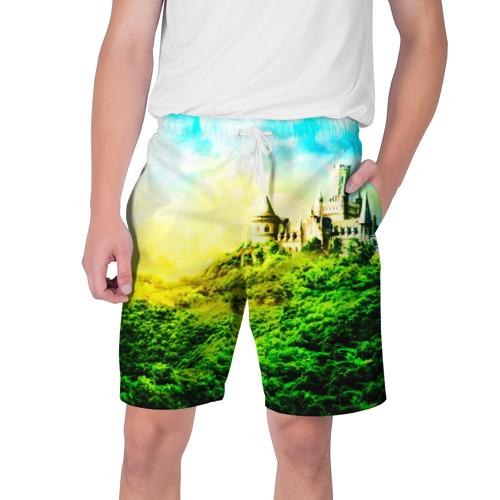 Мужские шорты 3D  Фото 01, Замок