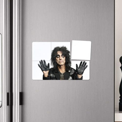 Магнитный плакат 3Х2 Элис Купер Фото 01