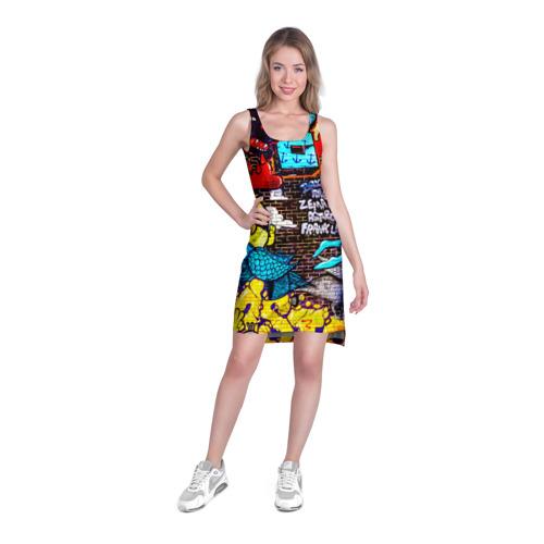 Платье-майка 3D  Фото 03, Граффити