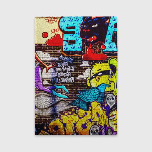 Обложка для автодокументов  Фото 02, Граффити