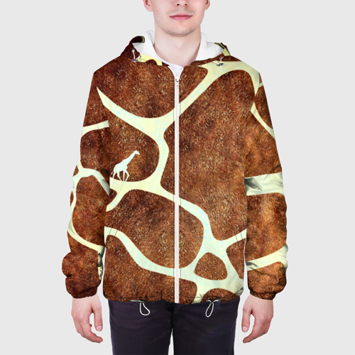 Мужская куртка 3D Жирафик Фото 01