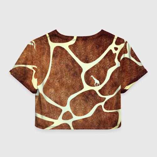 Женская футболка Cropp-top Жирафик Фото 01