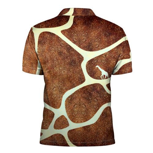 Мужская рубашка поло 3D Жирафик Фото 01