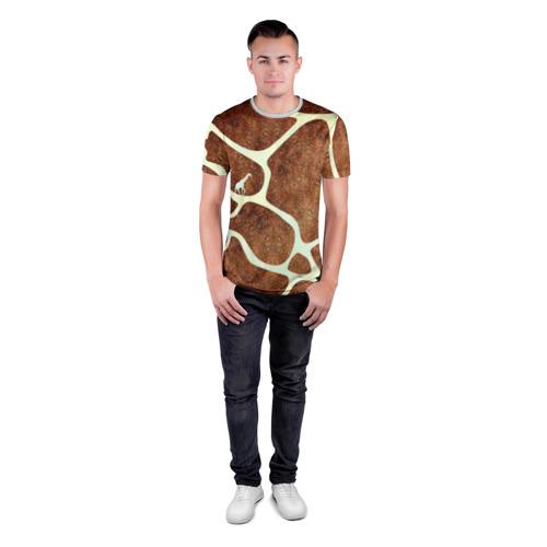 Мужская футболка 3D спортивная Жирафик Фото 01