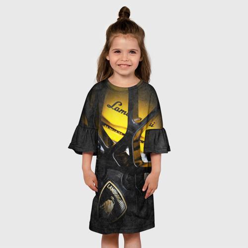 Детское платье 3D  Фото 01, Lamborghini