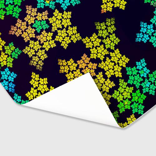 Бумага для упаковки 3D  Фото 03, Звездочки