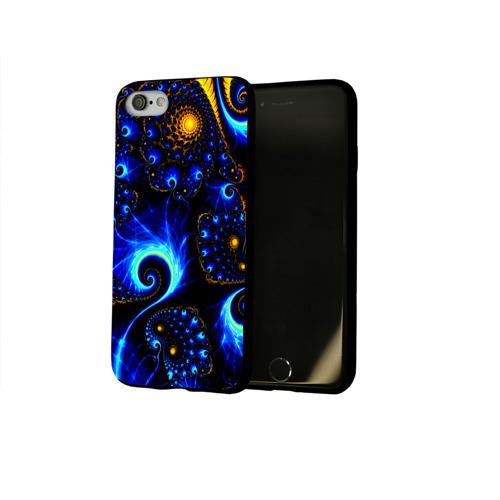 Чехол для Apple iPhone 8 силиконовый глянцевый colours Фото 01
