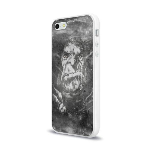 Чехол для Apple iPhone 5/5S силиконовый глянцевый  Фото 03, Тролль