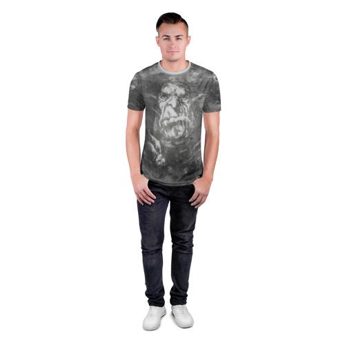 Мужская футболка 3D спортивная  Фото 04, Тролль