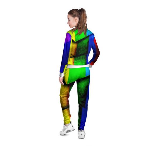 Женская олимпийка 3D  Фото 04, Граффити