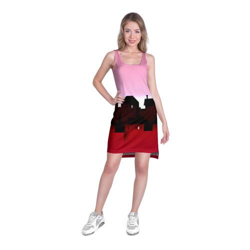 Платье-майка 3D  Фото 03, Urban pink