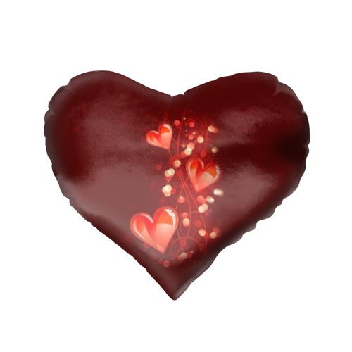 Подушка 3D сердце  Фото 02, Сердца