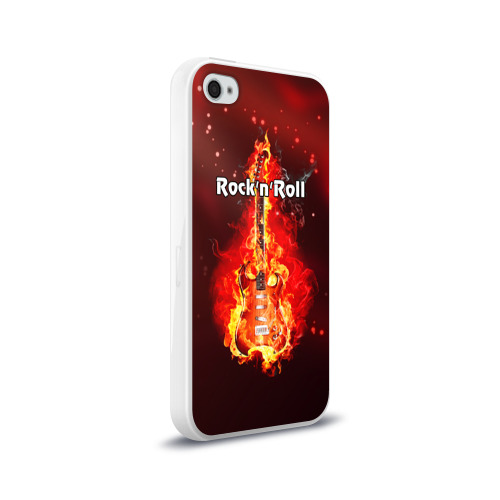 Чехол для Apple iPhone 4/4S силиконовый глянцевый  Фото 02, Rock'n'Roll