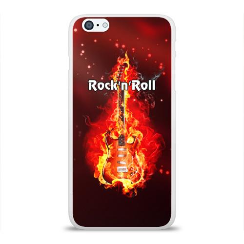 Чехол для Apple iPhone 6Plus/6SPlus силиконовый глянцевый  Фото 01, Rock'n'Roll