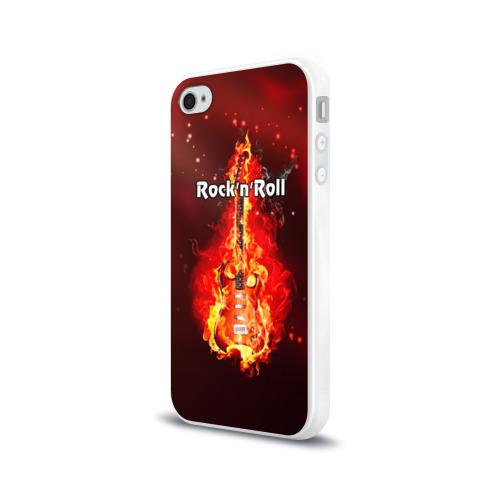 Чехол для Apple iPhone 4/4S силиконовый глянцевый  Фото 03, Rock'n'Roll