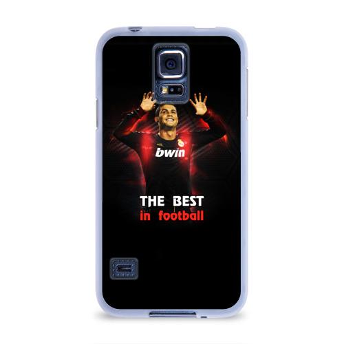 Чехол для Samsung Galaxy S5 силиконовый  Фото 01, The best in football