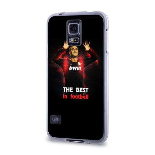 Чехол для Samsung Galaxy S5 силиконовый  Фото 03, The best in football