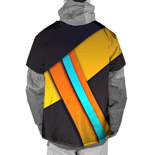 Накидка на куртку 3D  Фото 02, Geometrical