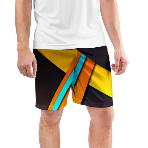 Мужские шорты 3D спортивные  Фото 03, Geometrical