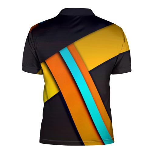 Мужская рубашка поло 3D  Фото 02, Geometrical