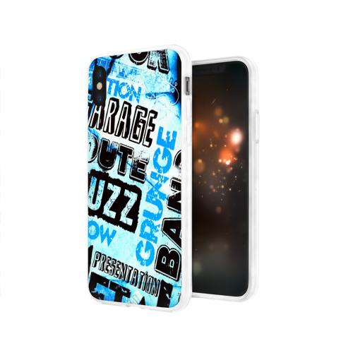 Чехол для Apple iPhone X силиконовый глянцевый  Фото 03, Garage