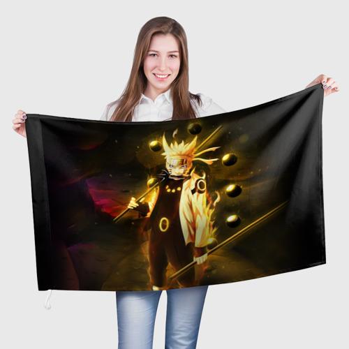 Флаг 3D Наруто Фото 01