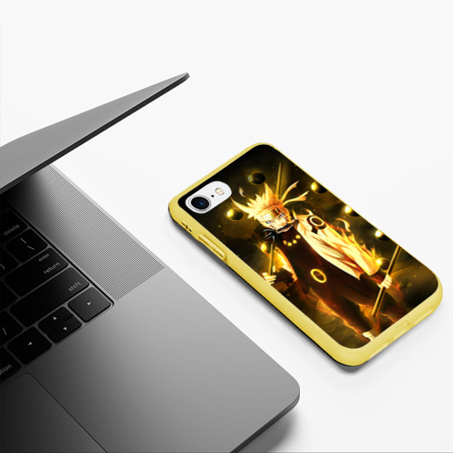 Чехол для iPhone 7/8 матовый Наруто Фото 01