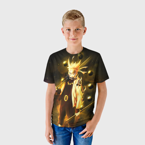 Детская футболка 3D Наруто
