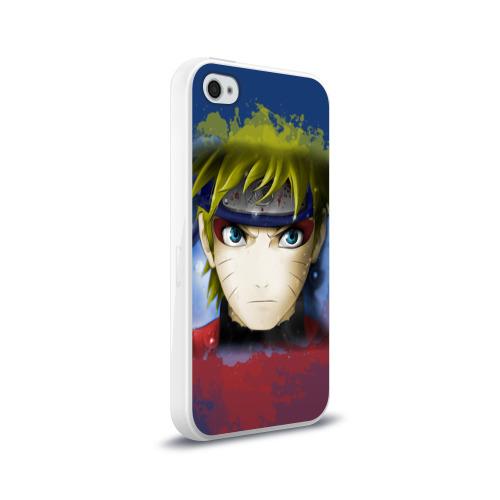 Чехол для Apple iPhone 4/4S силиконовый глянцевый  Фото 02, Наруто