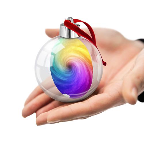 Ёлочный шар  Фото 02, Смесь красок