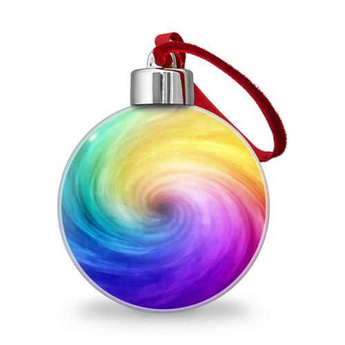 Ёлочный шар  Фото 01, Смесь красок