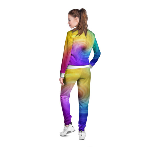Женская олимпийка 3D  Фото 04, Смесь красок