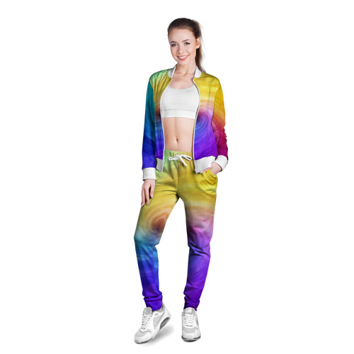 Женская олимпийка 3D  Фото 03, Смесь красок