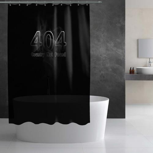 Штора 3D для ванной  Фото 02, 404