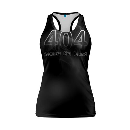 Женская майка 3D спортивная 404