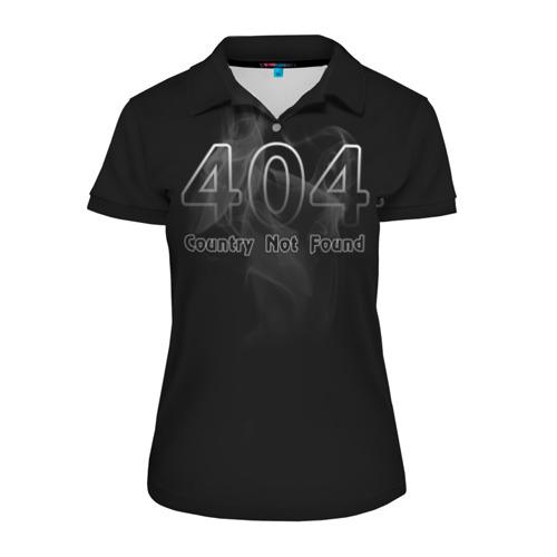 Женская рубашка поло 3D 404