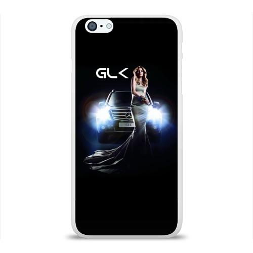 Чехол для Apple iPhone 6Plus/6SPlus силиконовый глянцевый Mersedes GLK Фото 01