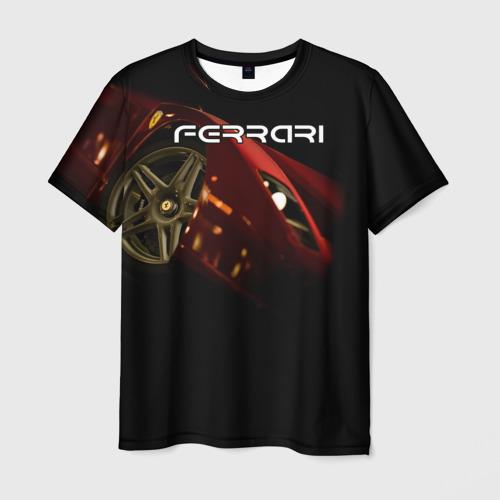 Мужская футболка 3D  Фото 03, Ferrari